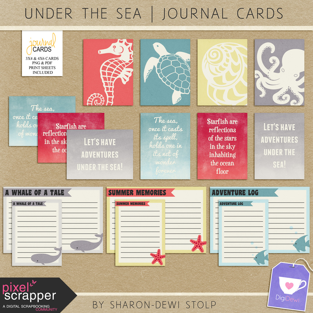 Freebie Journal Cards